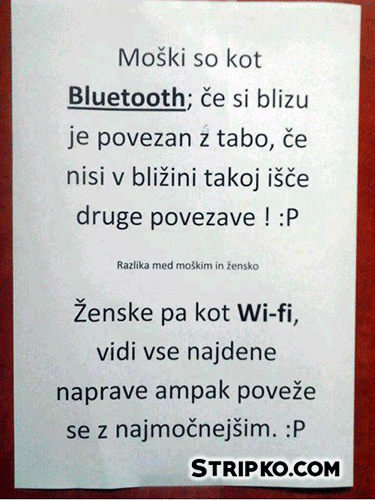 Bluetooth in Wi-fi