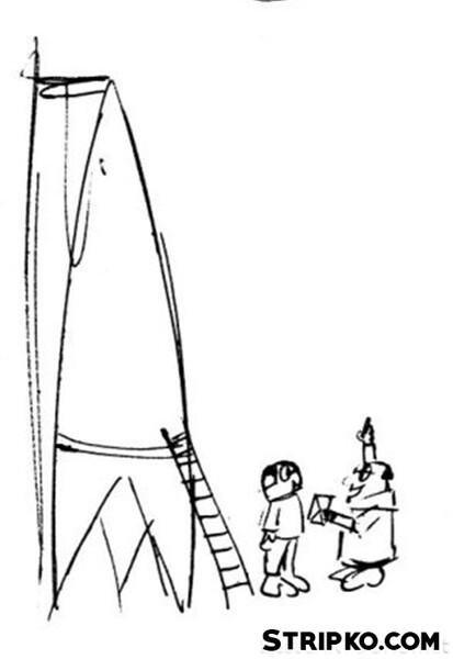 Z raketo na